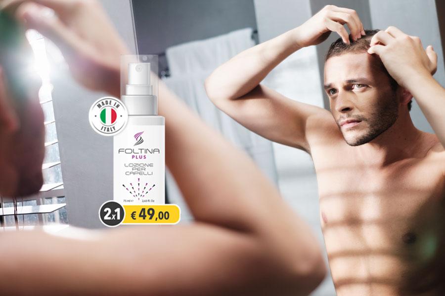 foltina plus spray per capelli