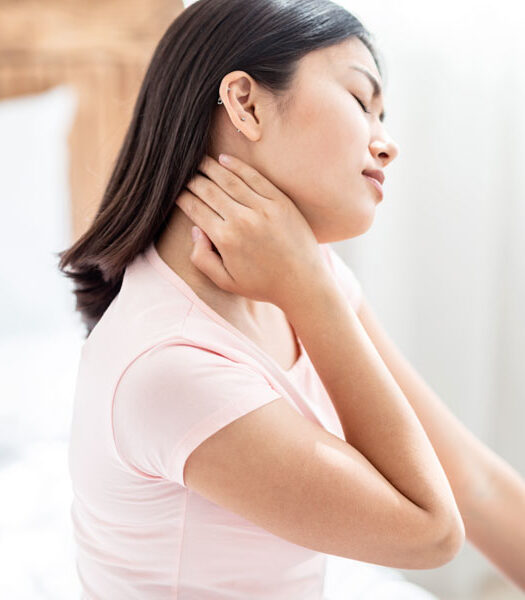 massaggio alla cervicale