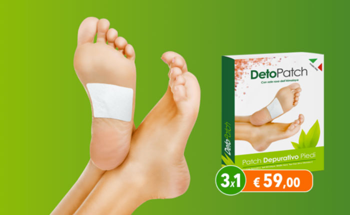 detopatch cerotto depurativo piedi